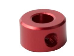 定位轴环(酒红色)