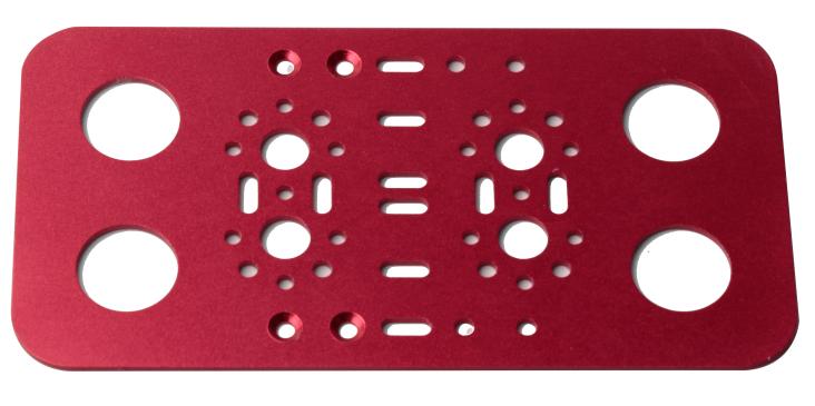 双足机器人脚板